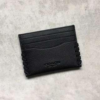 Coach card holder 卡片套 黑色 | *專門店新款