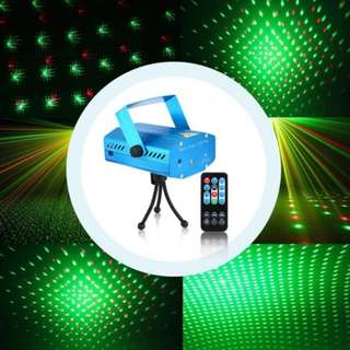 Black Mini R and G Auto/Voice Xmas DJ Disco LED Laser Stage Light Projector  ☎Mobile No. : 92325050📞