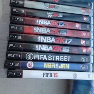 Play Station 3 Sports Games Bundle