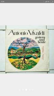 """Piringan Hitam/PH/Vinyl, Antonio Vivaldi, From """"The Four Seasons"""""""