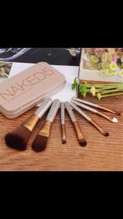 Naked 5 brush set