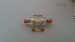 Inline Fuse Holder with 100amp Fuse