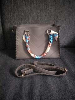 Dark Grey Handbag