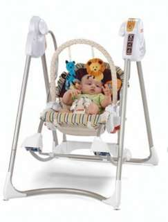 Fisher Price Smart Stages Rocker Swing 3in1