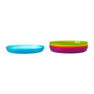 [IKEA] KALAS Plate, assorted colours 6pcs