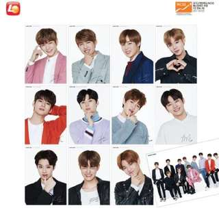Wanna One Lotteria Poster