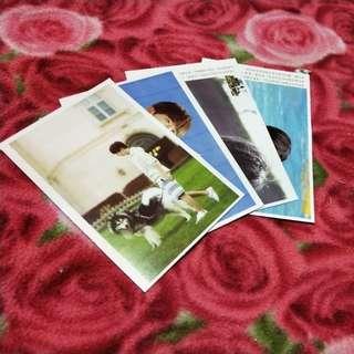 🚚 TFBoys 個人照明信片(僅4張)