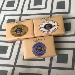 L'occitane body soap