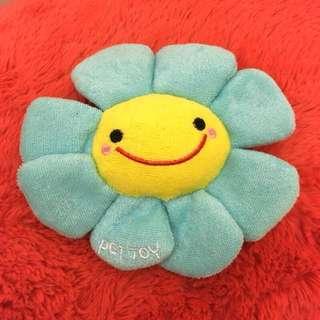 🚚 日系可愛發聲玩具太陽花 寵物玩具全新