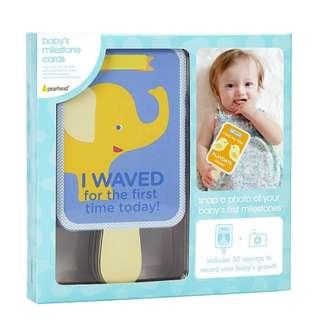 PEARHEAD BABY'S MILESTONE CARD