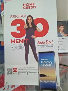 Promo kredit Samsung NOTE 8