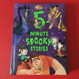 BN Disney 5 minute spooky stories (hardcover, 188pgs)