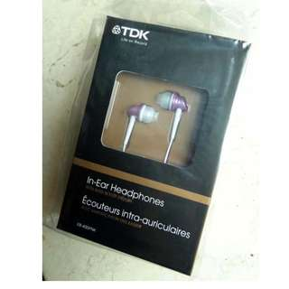 全新未開封 TDK Headphones with bass boost