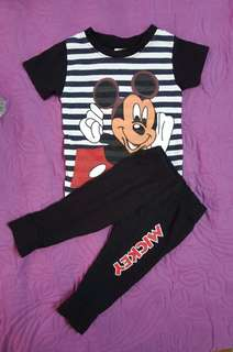 Mickey set for baby (3-6month)