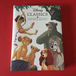 BN Disney classic storybook treasury (hardcover, 255pgs)
