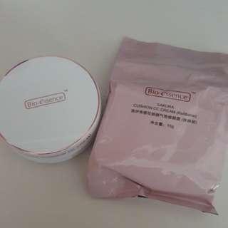 Bio Essence Sakura CC Cushion 15g with case