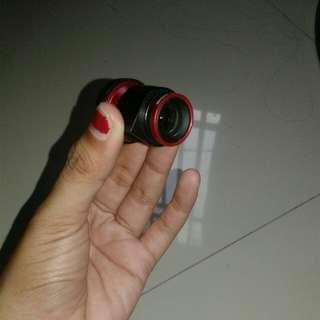 2in1 fisheye and micro
