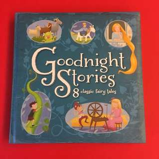 BN Goodnight stories 8 classic fairy tales (hardcover, 192pgs)