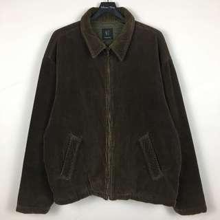 [Mitty's] 古著 燈芯絨鋪棉外套 L