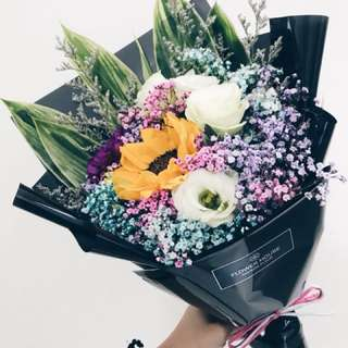 1s Sunflower bouquet
