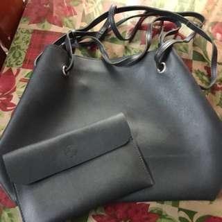 Korean 2in1 bag