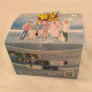 BTS 專輯卡一盒