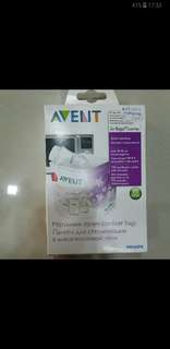 New!! Avent microwave sterilizer bags