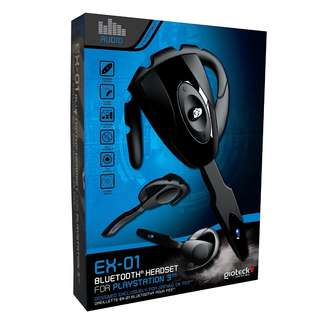 EX 01 Gaming Bluetooth Headset for PS3 - NEW
