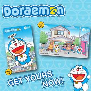 Doraemon ezlink card 3 design
