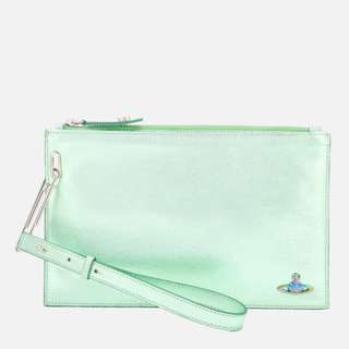 Vivienne Westwood   Metallic Clutch Bag 袋文件包 POUCH