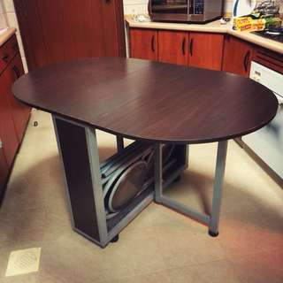 Foldable Table/Kitchen Island