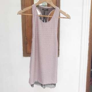 Spotlight Tank Mesh Dress