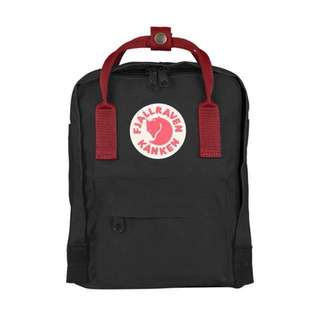 🎉SALE🎉FJALLRAVEN KANKEN MINI BACKPACK (BLACK/RED)