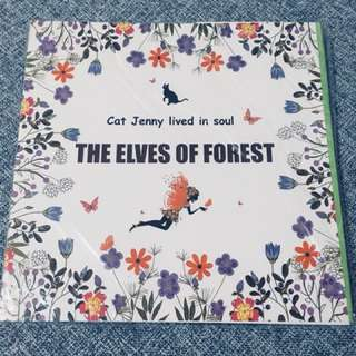 Colour Book - The Elves of Forest