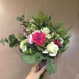 Pre wedding 西式花球