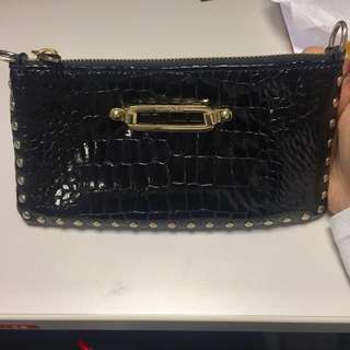 Jimmy Choo patent leather purse