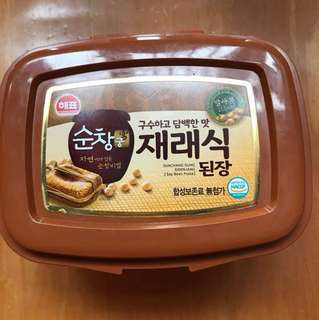 [韓國製造]韓國三祖麵豉醬 Korea SAJO Soybean Paste (500g, Made in Korea)