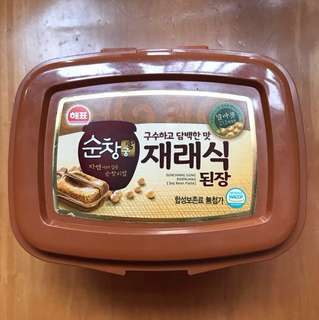 韓國三祖麵豉醬(韓國製造)Korea SAJO Soybean Paste (500g, Made in Korea)