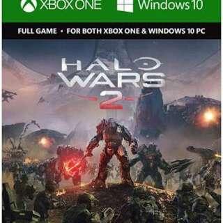Halo war 2 Digital code