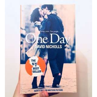 📚David Nicholls - One Day📚 NOW A MAJOR MOTION PICTURE