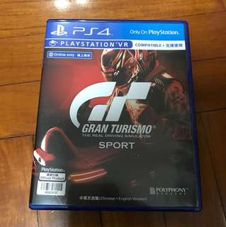 Gran Turismo PS4 game (90% new)