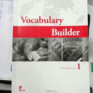 Sec 1 Vocab Builder (SAP)