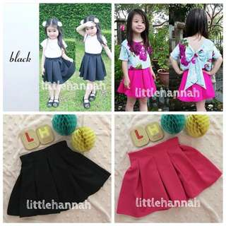 🎀Instock - Toddler Girl Pleated Skirts (1-4Y)
