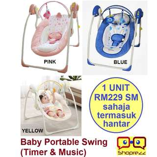 Baby Portable Swing (Timer & Music)