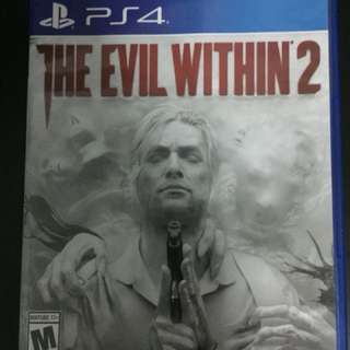 PS4 The Evil Within 2 (Pre-Owned Prefect Condition)