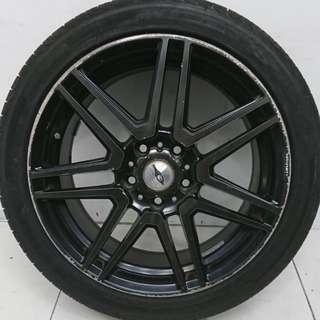 """17"""" Sport Rim With Tyre 5x114.3"""