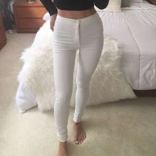 TOPSHOP JONI HIGH WAISTED JEANS