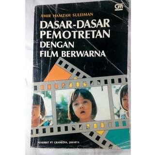 buku bekas dasar dasar pemotretan film bewarna dengan kamera rol film