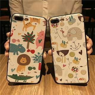 Zoo Softcase for iphone 5 to 8+