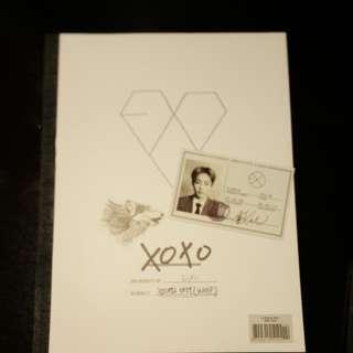 EXO Wolf (專輯+小卡) (Xiumin韓/Lay中)